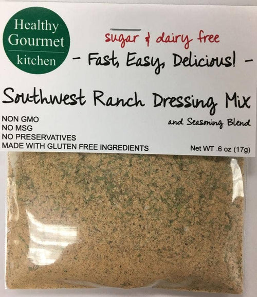 Healthy Gourmet Kitchen - Southwest Ranch Dressing and Dip Mix
