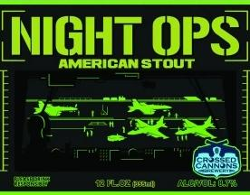 Night Ops Stout, Crossed Cannons