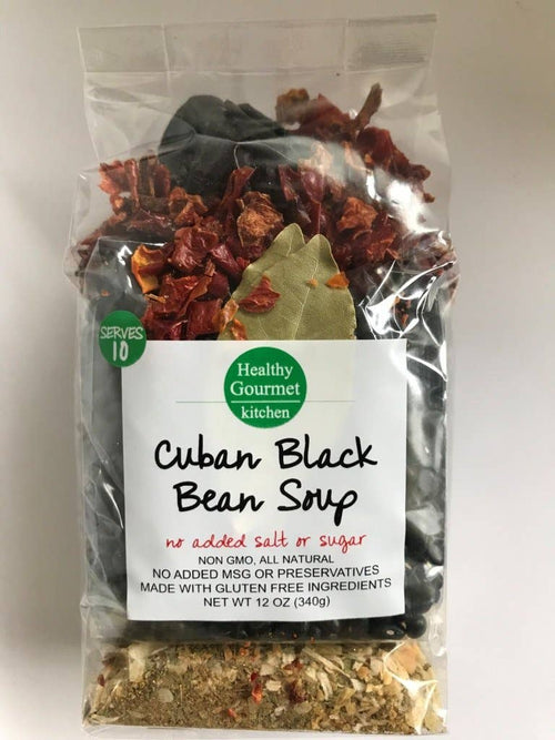 Healthy Gourmet Kitchen - Cuban Black Bean