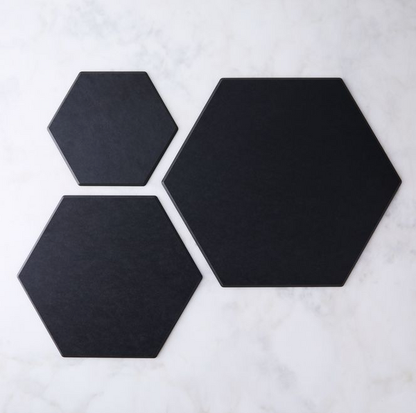 Hexagon Tile 17x14.5 Slate