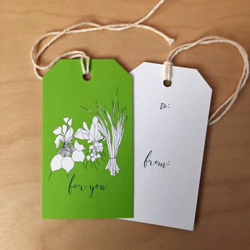 For You Veggies, Greeting Card