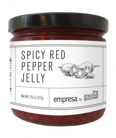 The Gracious Gourmet - Spicy Red Pepper Jelly