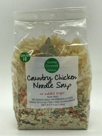 Healthy Gourmet Kitchen - Gluten Free Chicken Noodle