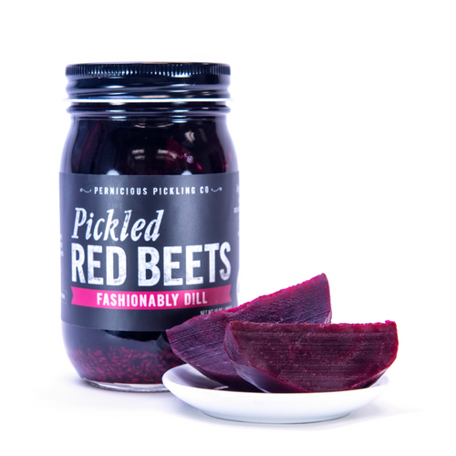 pickled red beets