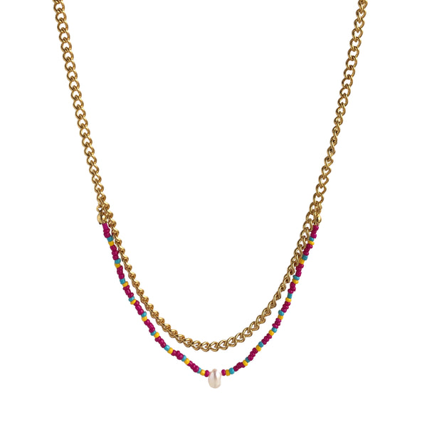 Primrose necklace