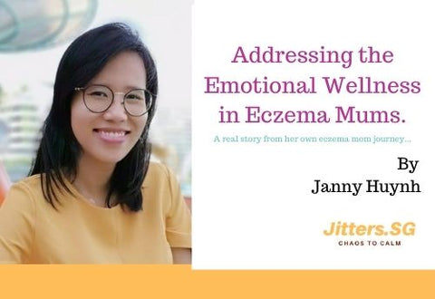 Janny Huynh is a mental wellness coach and a mom of a eczema child.