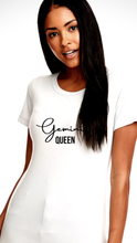 "Load image into Gallery viewer, ""Zodiac Queen"" ♈️ White Tee"