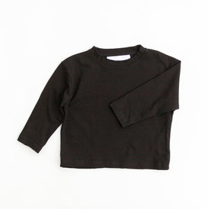 Be kindly long sleeve tee - black