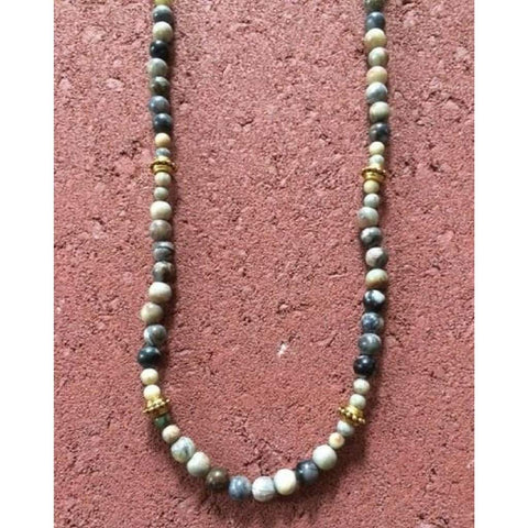 Mens Picasso Beaded Necklace