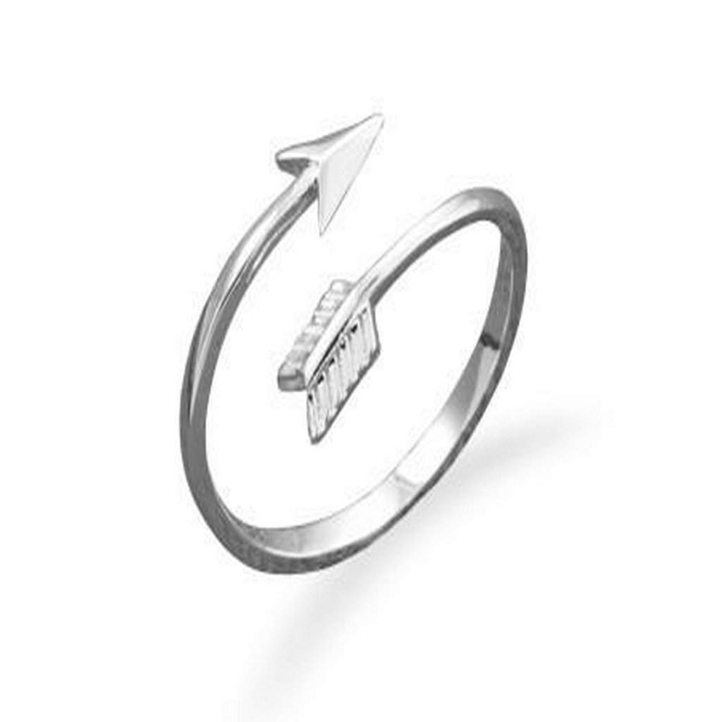 Sterling Silver Wrap Arrow Ring
