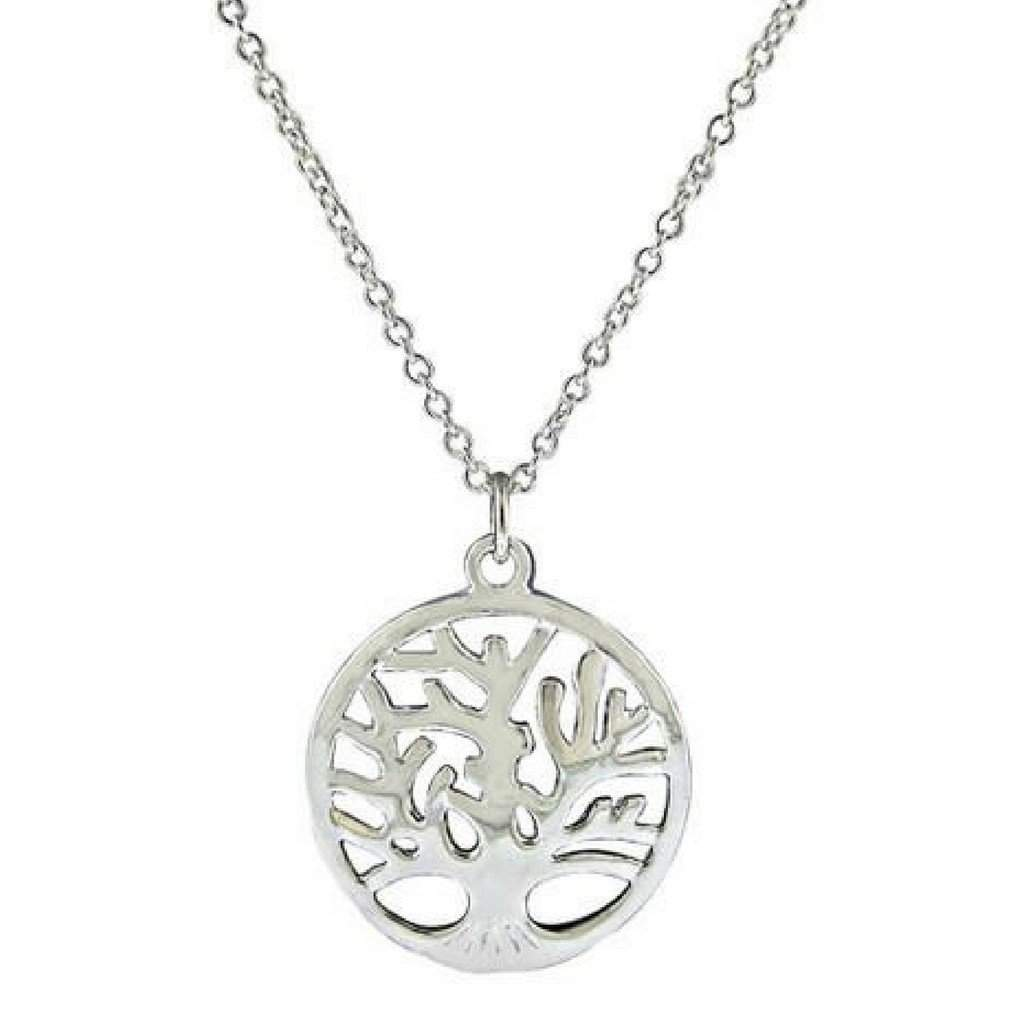 Sterling Silver Tree Of Life Necklace - JaeBee Jewelry