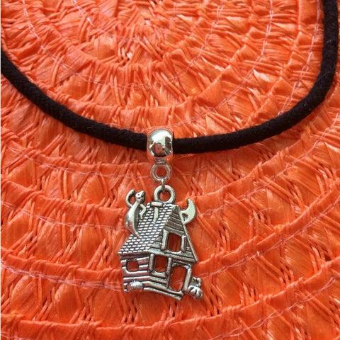 Haunted House Halloween Choker