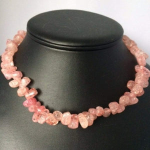 Candy Crush Berry Quartz Necklace - JaeBee Jewelry