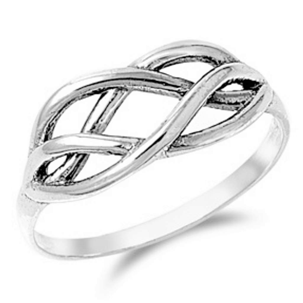 Sterling Silver Celtic Ring - JaeBee Jewelry