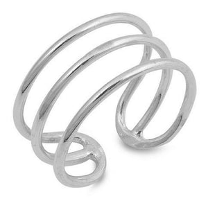 Multi Band Sterling Silver Ring - JaeBee Jewelry