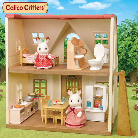 Calico Critters Playful Starter Furniture Set + Cozy Cottage