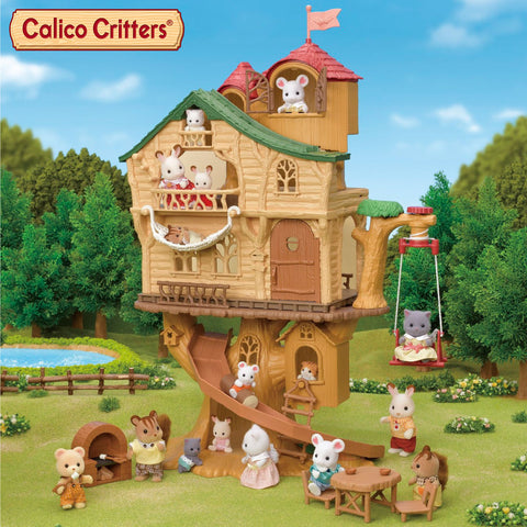 Calico Critters Lakeside Lodge + Adventure Tree House, 2020 Editions