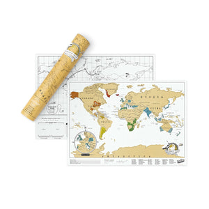 Scratch Map Travel Edition - World Map