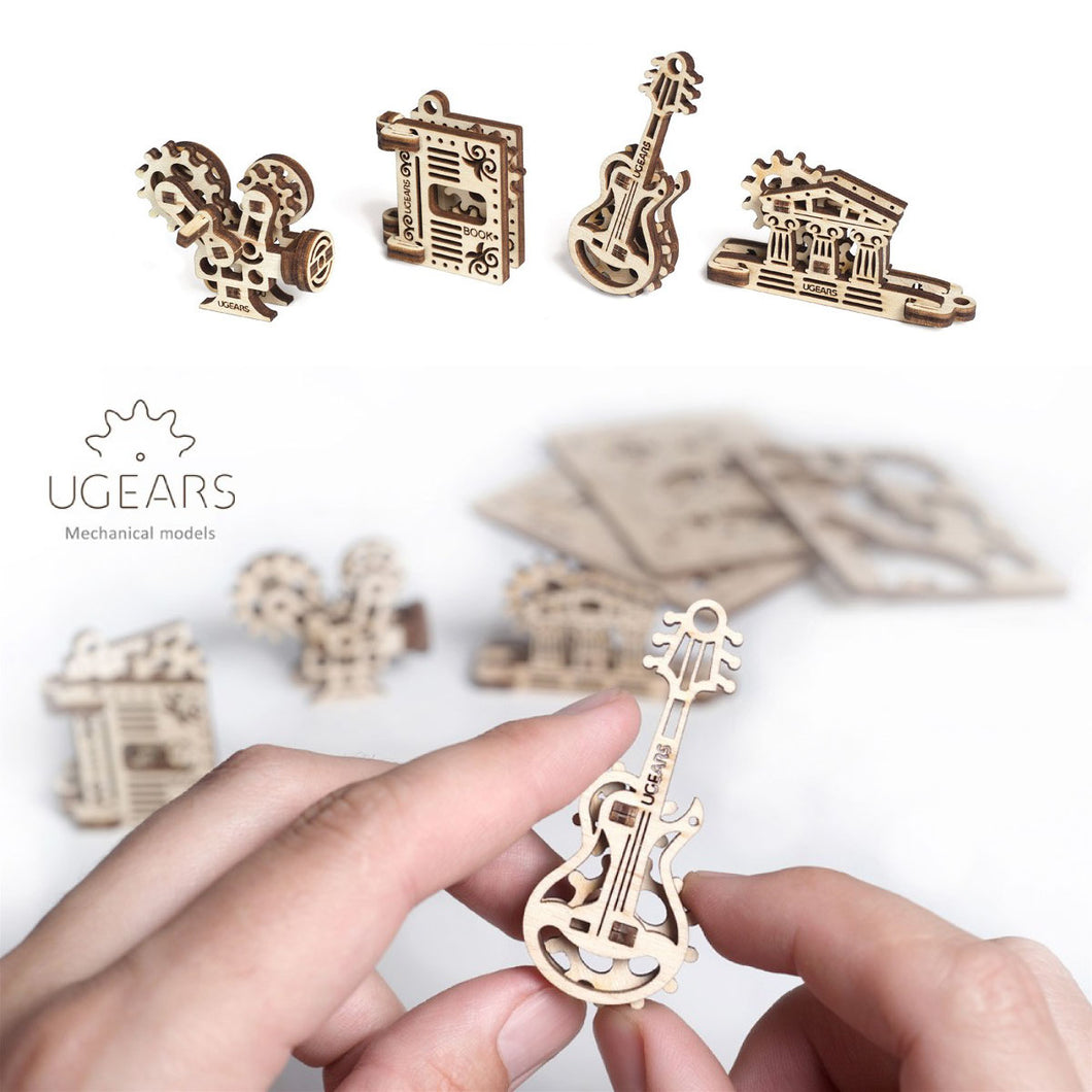 UGears U-Fidgets Creation 4 Pack