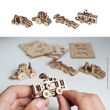 Load image into Gallery viewer, UGears U-Fidgets Vehicles 4 Pack