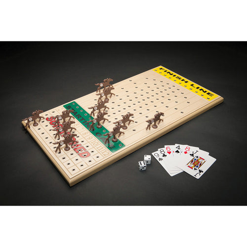 Horse Racing Game - Maple Top from Across the Board Games