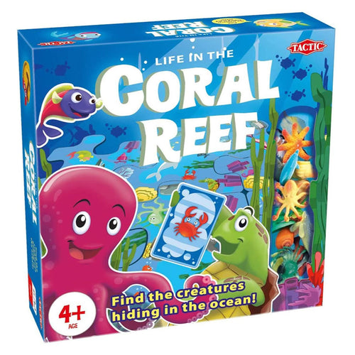 Life in the Coral Reef Game from Tactic