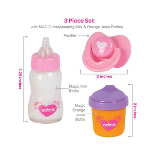 Magic Sippy 3 Piece Set from Adora