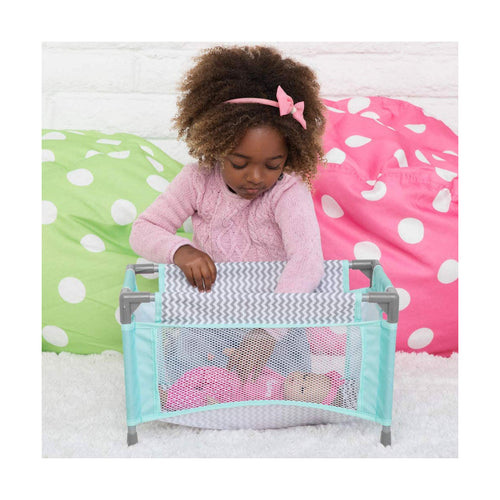 Zig Zag Playpen Bed from Adora