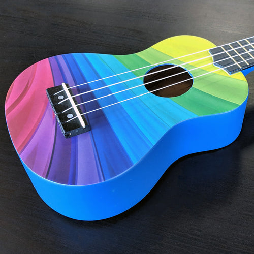Amahi Painted Pattern Ukuleles