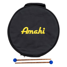 "Load image into Gallery viewer, Amahi Steel Tongue Drum - 8"" Case"