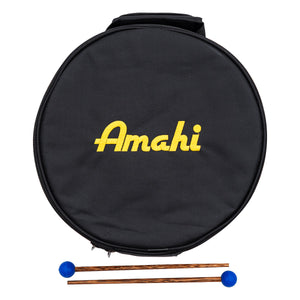 "Amahi Steel Tongue Drum - 8"" Case"