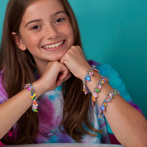 Craft-tastic DIY Sparkle Charm Bracelets