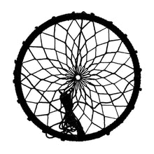 Load image into Gallery viewer, Black Dreamcatcher Sky Swing from B4Adventures