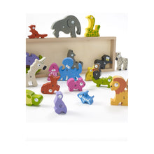 Load image into Gallery viewer, Animal Parade A to Z Wooden Puzzle Playset from Begin Again