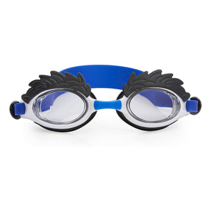 Hairy Eyebrow Swim Goggles - White