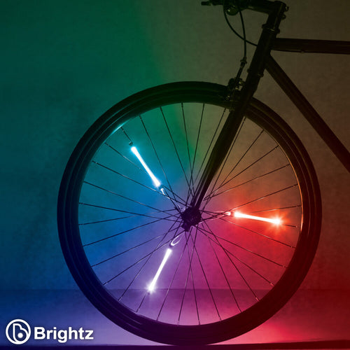 Color Morphing Spin Brightz Spoke Lights