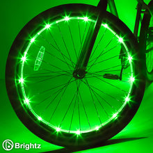 Load image into Gallery viewer, Wheel Brightz Bike Lights - Green
