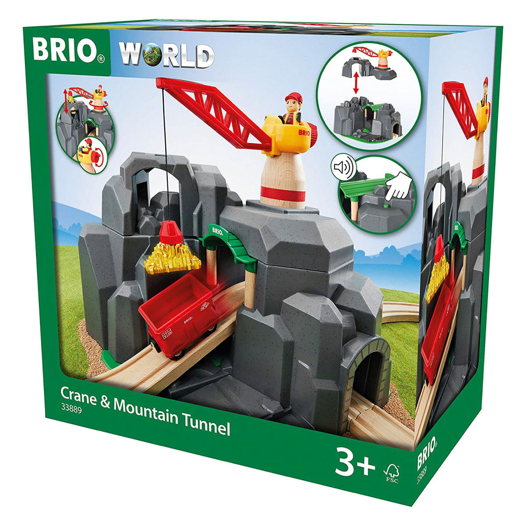Brio Crane & Mountain Tunnel