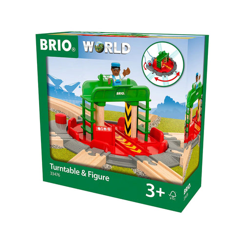 Brio Turntable & Figure