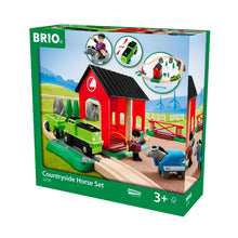 Load image into Gallery viewer, Brio Countryside Horse Set