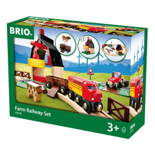 Load image into Gallery viewer, Brio Farm Railway Set