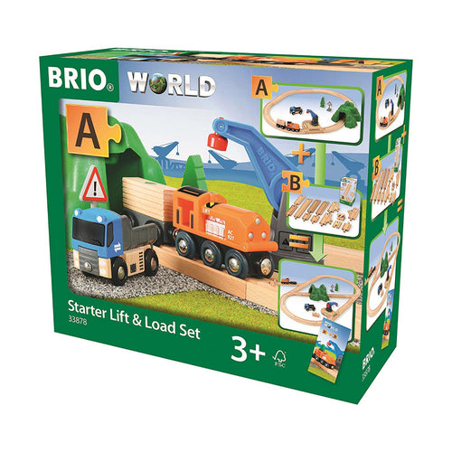 Brio Railway Starter Lift & Load Train Set