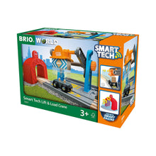 Load image into Gallery viewer, Brio Train Smart Tech Lift & Load Crane