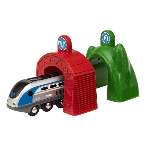 Brio Train Smart Tech Smart Engine with Action Tunnels