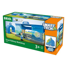 Load image into Gallery viewer, Brio Train Smart Tech Railway Workshop