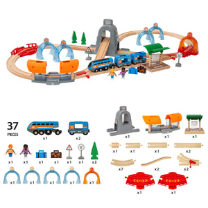 Brio Smart Tech Sound Action Tunnel Travel Set