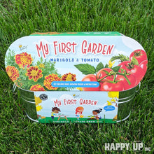 Load image into Gallery viewer, Buzzy My First Garden - Marigold & Tomato Windowsill Grow Kit