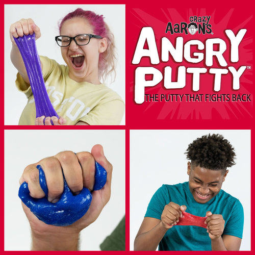 Crazy Aaron's Thinking Putty Angry Putty