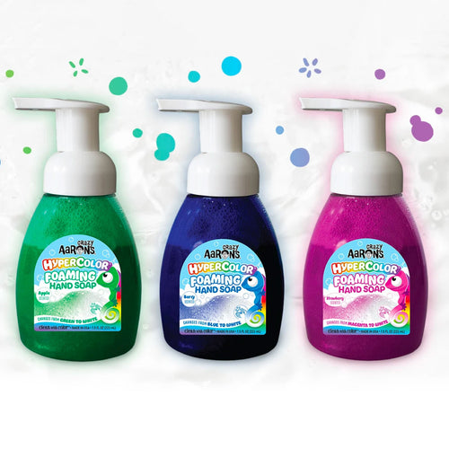 Hypercolor Foaming Hand Soap from Crazy Aaron