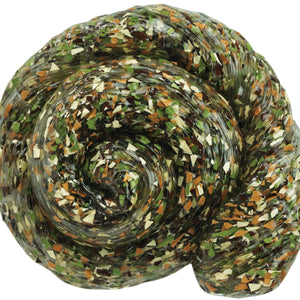 Crazy Aaron's Woodland Camo Thinking Putty
